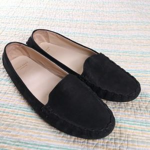 Cole Haan Grand OS 7 Black Venetian Drivers Shoes